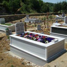 Tek Kişilik Mermer Mezar