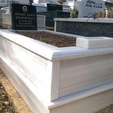 Tek Kişilik Baş Taşı Granit Mezar