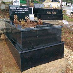 Tek Kişilik Absolute Black Komple Granit