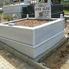 İki Kişilik VazoluMermer Mezar