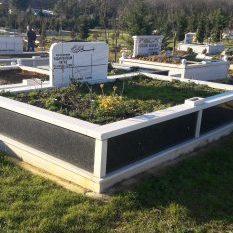 Aile Kabristanlığı Granit Mezar Yapımı
